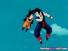 Dragon Ball Z Hentai_ Videl and Gohan