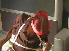Pretty Redhead Chair Escape Challenge
