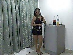 hot thaigirl tease on bed