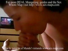 Prostituta colombiana con un frances