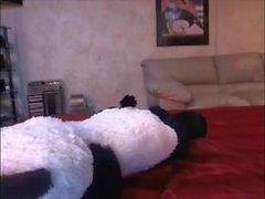 follar rubia de la panda