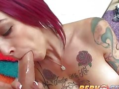 Pervcity Anna Bell Peaks Stunning Big Tits Cause Instant Hard-ons