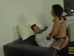 PASCALSSUBSLUTS - Classy UK MILF Belle OHara submits to dom