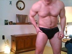 Str8 Blonde Muscle Father Play
