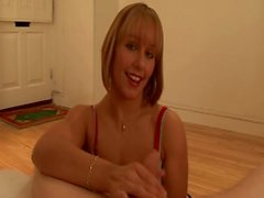 She wants him at her mercy as she gives him a handjob HD