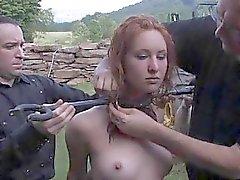 Tittenfick gefoltert für Naughty chick