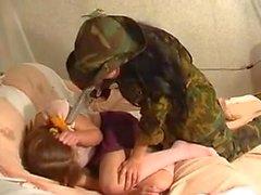 Cute russian hairy lesbians