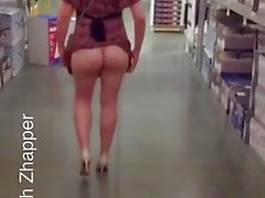 Flashing Arse in Public 1