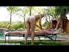 All Girl Massage Anikka Albrite licking Dani Daniels