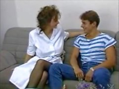 Big tit MILF and boy vintage