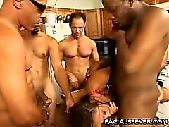 Venus Threesome Blowjob