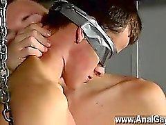 Twink sexo New Boy de Brodie masturbado Y