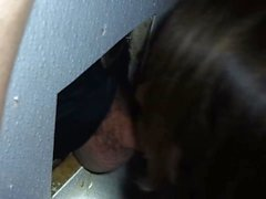 Wife's 1st gloryhole
