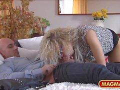 MAGMA FILM Casting he Milf secretary