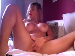 Private Webcam Masturbation With Bigboob Blonde