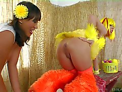 Ava Devine loves egg from the ass