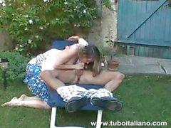 Italian Amateur Giovane e Porca