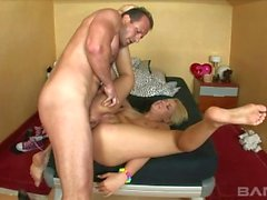Old Man Fuck Zorah White In The Ass