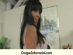 Busty cougar bangs BBC 13