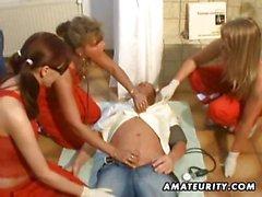 3 amateur de les femmes course et baise une femme avec éjaculation