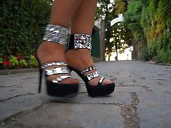 High Heels Swarovski Crystal