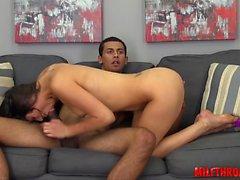 Amateur couple bondage anal