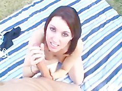 Outdoor sex with a young Dylan Ryder