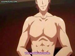 Sexy bimbo Hentai porno con grandi tette