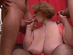 BBW MILF Sophias Gang - smäll