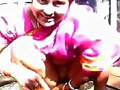 Индийский зрелая телка