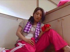 Best of Futanari - Mom Masterbates