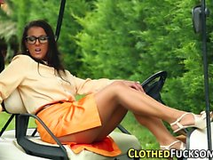 Spex glam ho cum drenched