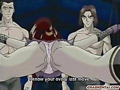 Японские Аниме себя дрочит киске а сосать кран