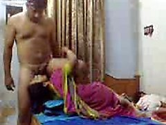Indian couple Britteny from 1fuckdatecom