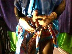 celestial silk nightgown
