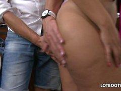 Giant tits and big ass of blonde bbw Krystal Swift