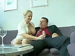 Tyska knubbig mogen Bea Dumas
