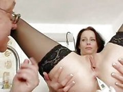 Big natural tits Milf Sabrina weird doctor visit