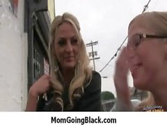 Interracial milf porn - Mommy rides black monster cock 26