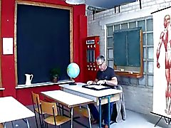 Teeny Geil auf den Lehrer German