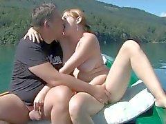 Man delen Zijn Vrouw door The Lake door TROC