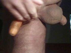 totalt förstörde jag Saftigt rövhål i a Morot butthole smörkärna