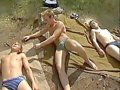 Outdoor Twinks - Orgie - nial