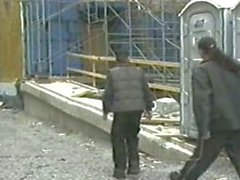 2 latin boys have sex on a construction site gay uncut shaved