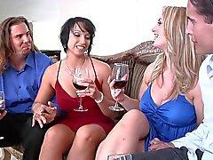 Wife Star du porno Swapping de 3