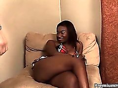 Big black ass Sadie Say getting nailed and cummed on tits