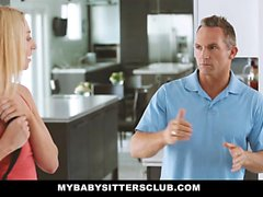 MyBabySittersClub - Caught the Babysitter Tocar meu Galo