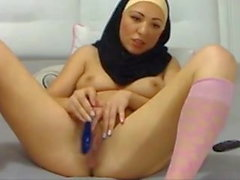 Arab Muslim hijab cute girl