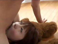 censored Megumi Kei Deepthroat facefuck