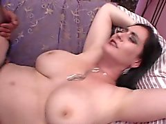 Big titted MILF - Slut kovaa munaa 2 Guys - Raven